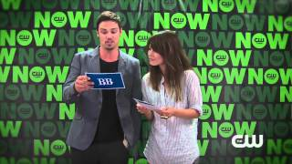 Jay Ryan and Kristin Kreuk answer Fan Questions