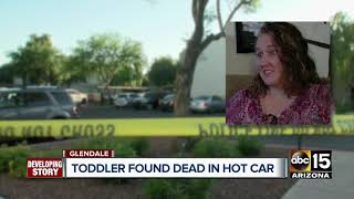 Baby dies after being found inside car in Glendale