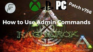 ARK: Survival Evolved How to use Admin Commands after update v756
