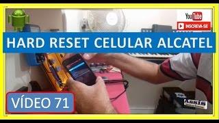 HARD RESET Celular ALCATEL PIX 3.5 V#71