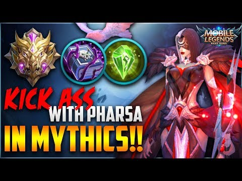 HOW TO PLAY & COUNTER PHARSA - Mobile Legends Pharsa Ranked Gameplay