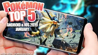 Top 5 New Pokemon Games January 2019 - Android IOS Gameplay