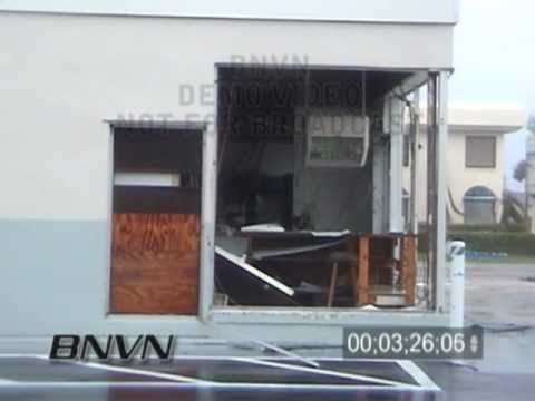 9/26/2004 Hurricane Jeanne, Cocoa Beach Florida Video