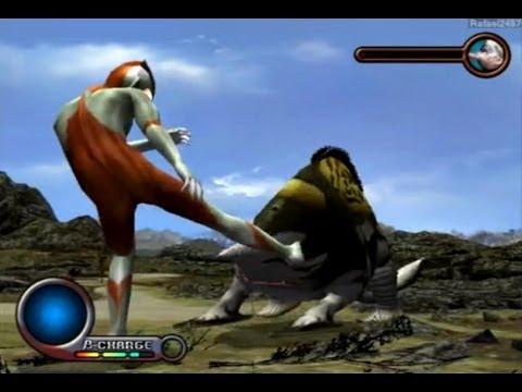 Ultraman PS2 (Story Mode Part 8) Ultraman vs Gubila