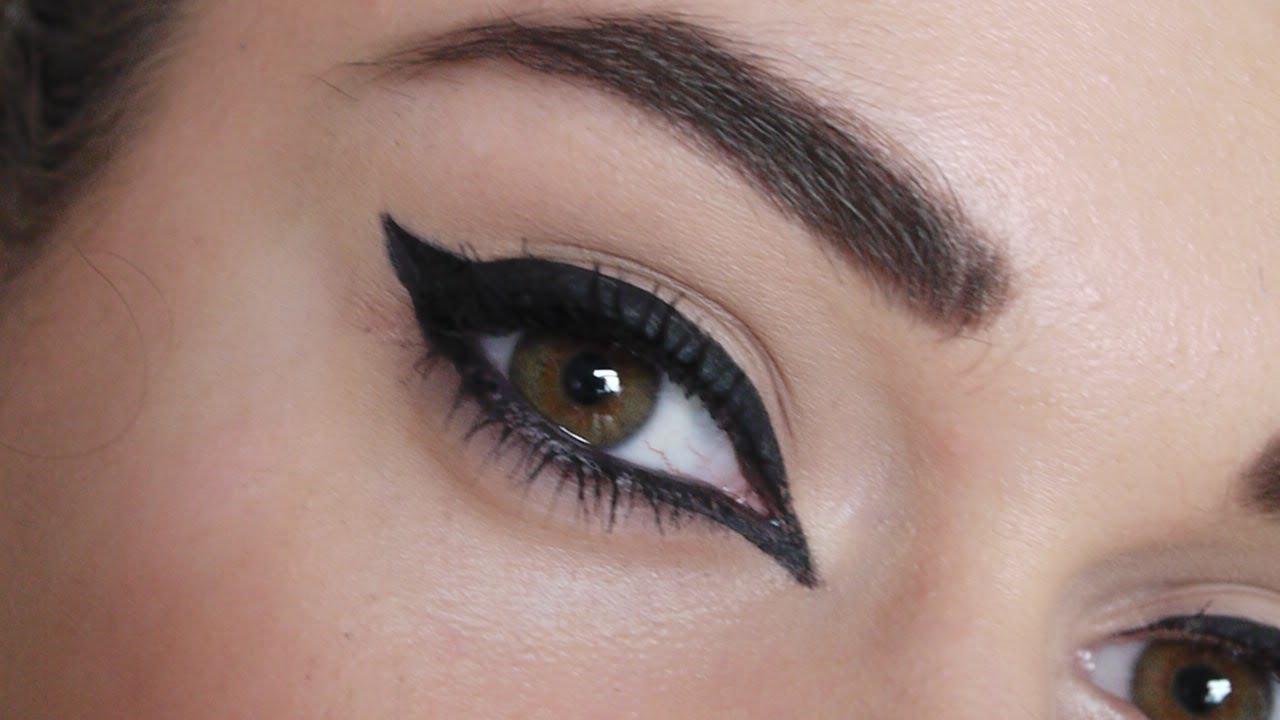 3 Simple Eyeliner Styl...