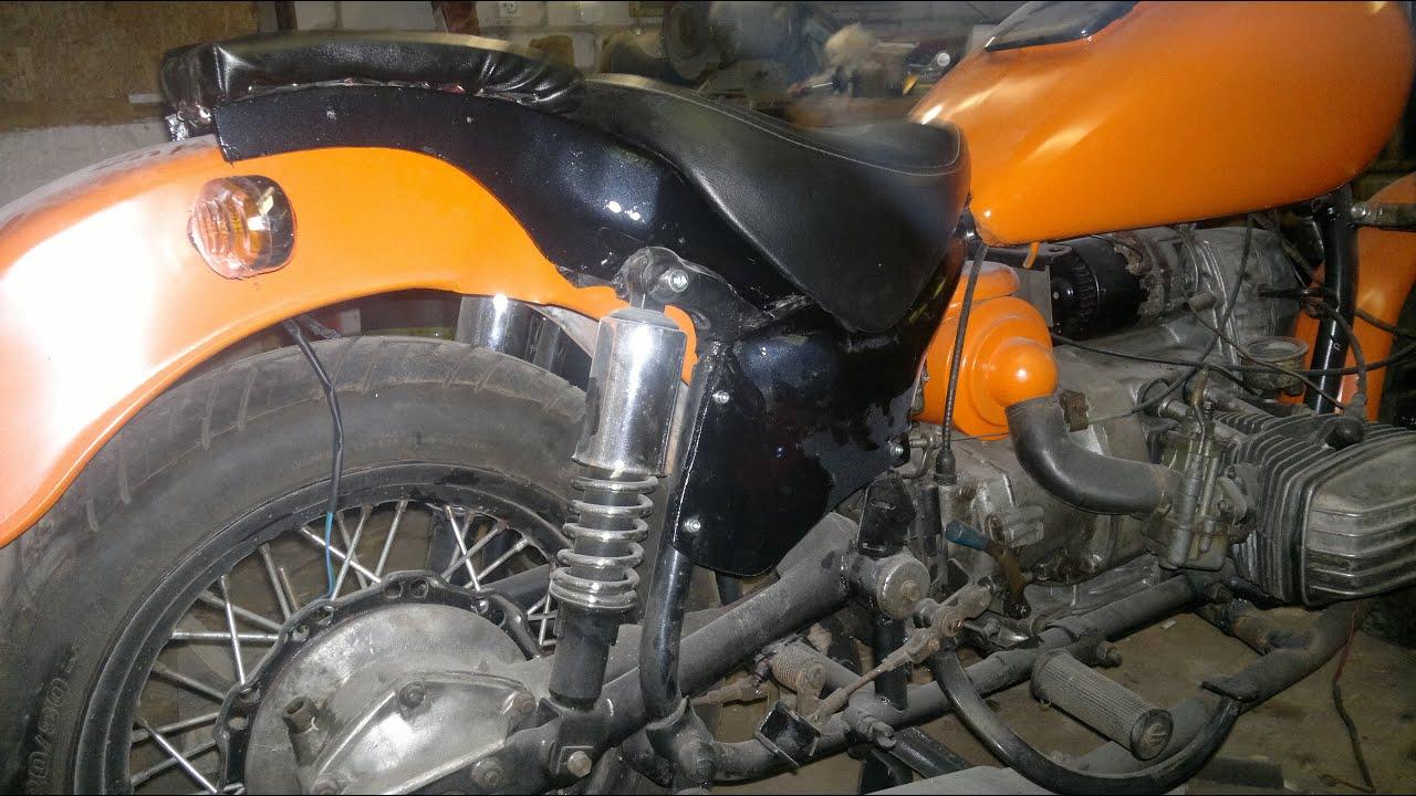 Как сделать облицовку на мотоцикл своими руками