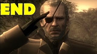 Metal Gear Solid 4: Guns of the Patriots Ending Final Cut Scene Credits After Credits