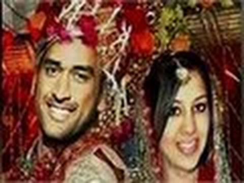 Mahendra Singh Dhoni gets married Video