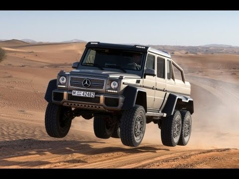 Mercedes G63 AMG 6x6 - 536bhp, 6WD and $500,000 - autocar.co.uk