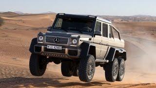 Mercedes G63 AMG 6x6 - 536bhp, 6WD and $500,000 - autocar.co.uk