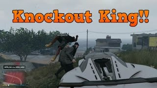 GTA V Knockout Compilation Part 1