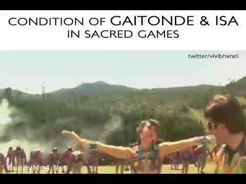 Ganesh gaytonde | sacred game comedy