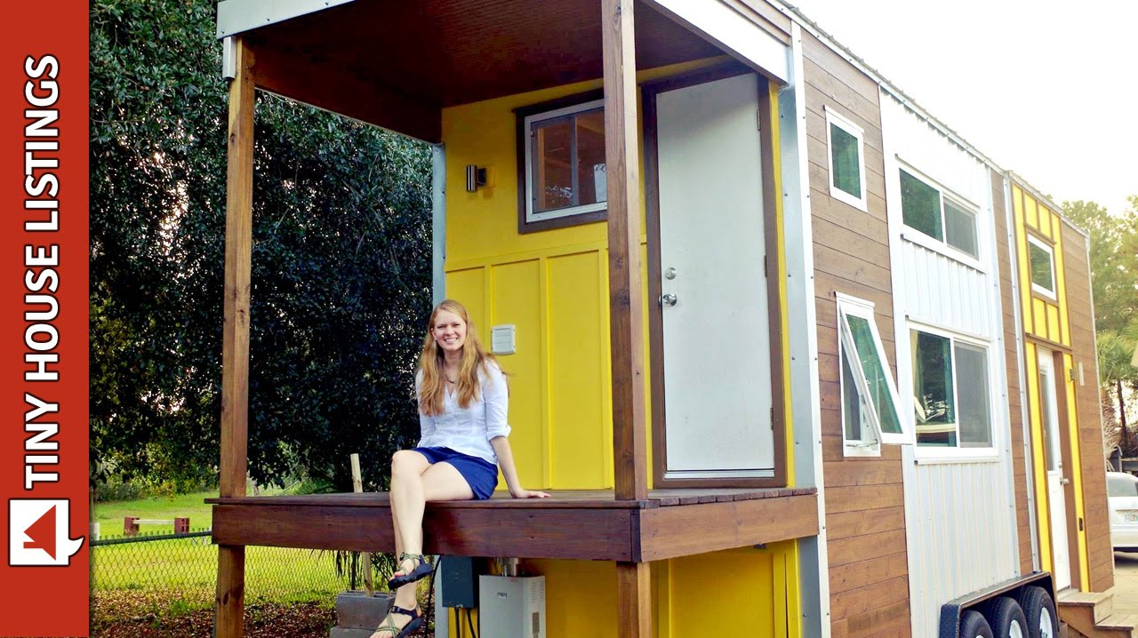 "Emily's Amazing ""Little Sunshine"" Tiny House"