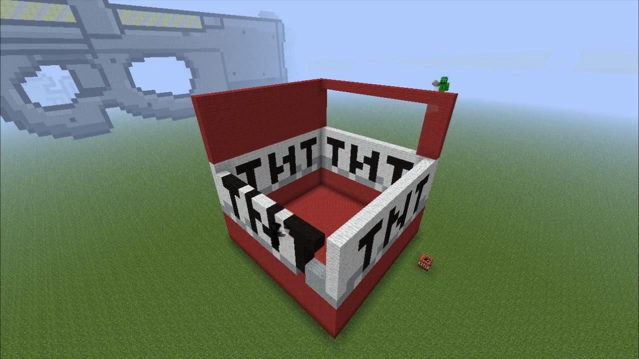 Tnt Pixel Art Minecraft Tnt Gigante Pixel Art