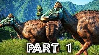 Jurassic World Evolution Gameplay Walkthrough Part 1 (Full Game)