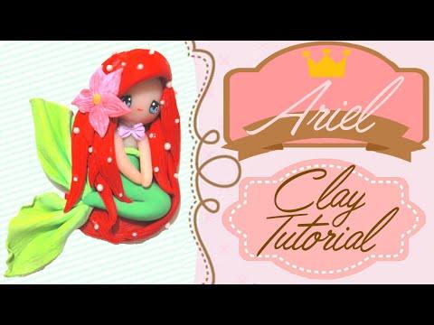 Ariel Little Mermaid Chibi   Polymer Clay Tutorial