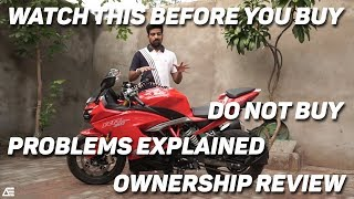 PROBLEMS IN TVS APACHE RR310   Ownership review   Auto Encyclo