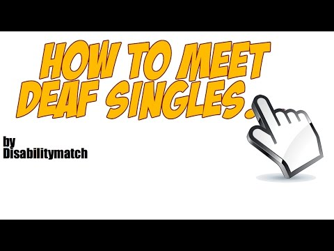 Deaf dating website