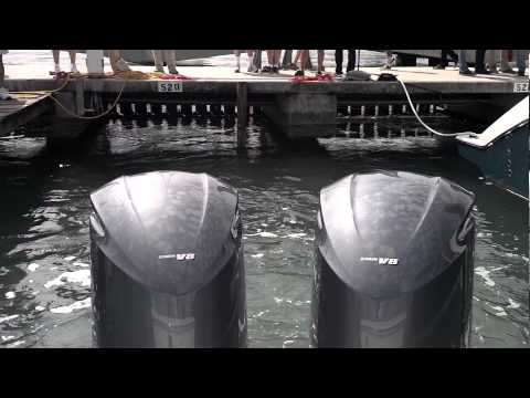 Miami Boat Show  Feb. 2013 - No Fishing, Just Fast Boats!!