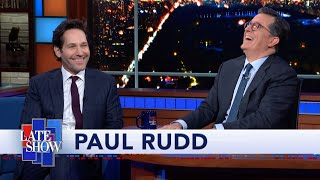 "Paul Rudd Ate A Lot Of Salmon To Get His Abs In Shape For ""Ant-Man"""