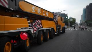 空拍Hung Tai International LTM-1750 宏泰2億吊車