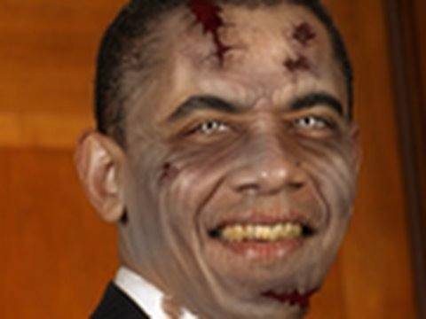 Zombification of Obama: Political Zombies
