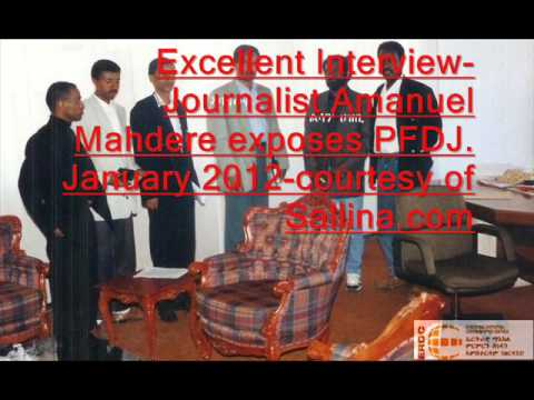 Journalist Amanuel Mahdere exposes the PFDJ