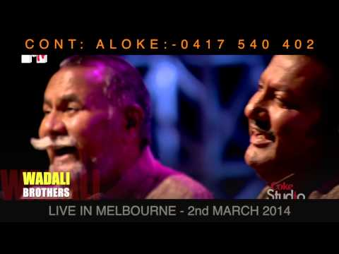 WADALI BROTHER PROMOTIONAL VIDEO | LIVE IN MELBOURNE | THORNBURY...