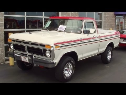 1977 Ford F150 4x4 351 V8 Four-Speed
