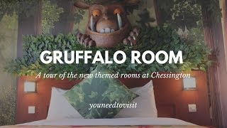 Gruffalo rooms at Chessington World of Adventures