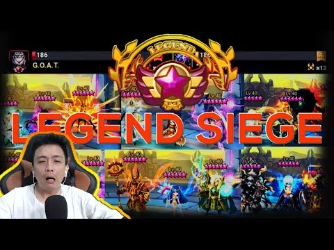 Download LEGEND GOAT NEW Meta Siege Battle Defense - isengdudegame Summoners War Mp4 baru