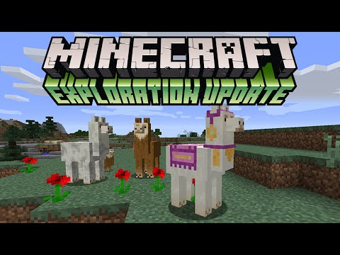 Minecraft 1.11 Exploration Update: Minecon First Look (Llama, Shulker Box & New Mobs)
