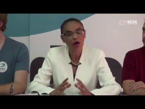 Coletiva Marina Silva | 18 de abril