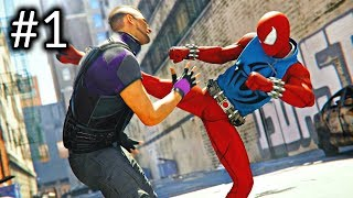 SPIDER-MAN - PS4 Pro Gameplay Part 1 - INTRO (Marvel's Spider-Man) 4K
