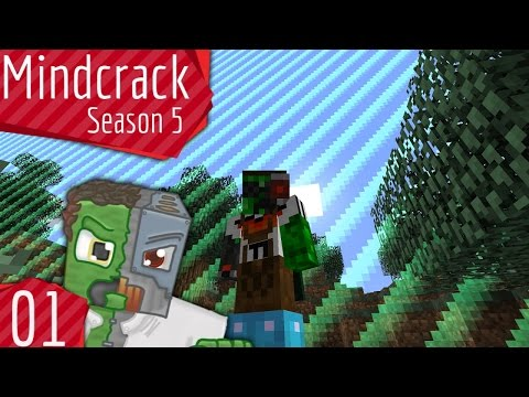 Borderlands and Fancy Pants! — Mindcrack Server Season 5 — Episode 1