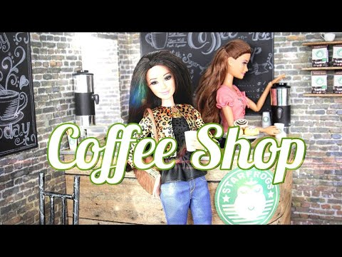 How to Make a Doll Coffee Shop Doll Crafts