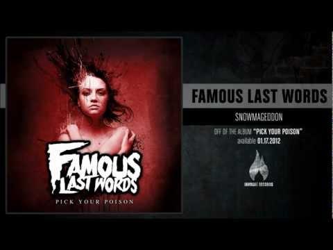 Famous Last Words - Stone