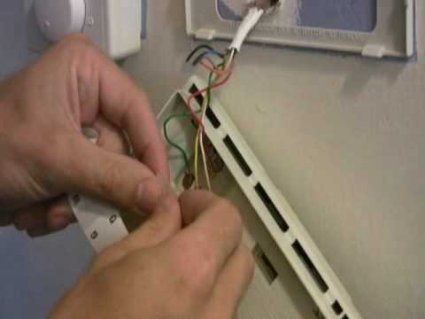How To Replace Your Old Thermostat  YouTube