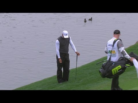 Tiger Woods highlights from Round 2 at Waste Management