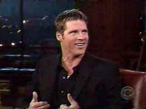 Ben Browder on the Late Late Show