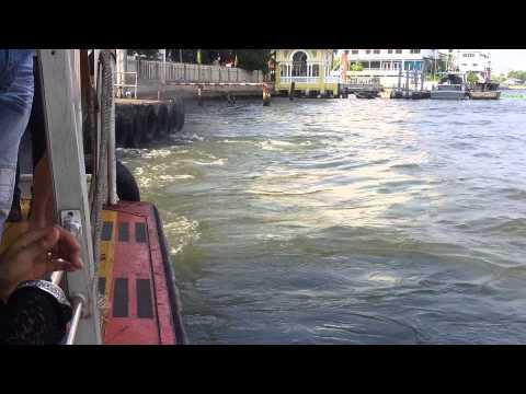 Chaoa Phraya express boat 09.01.13 part 2
