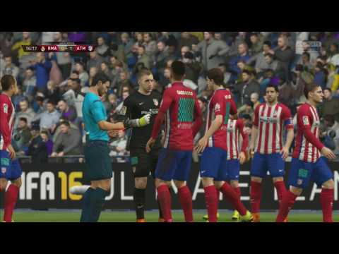 Madrid Derby Real Vs Atletico Fifa 16 Gameplay Part 1 HD