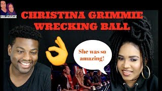 Download Lagu Christina Grimmie- Wrecking Ball The Voice Blind Auditions| REACTION Gratis STAFABAND