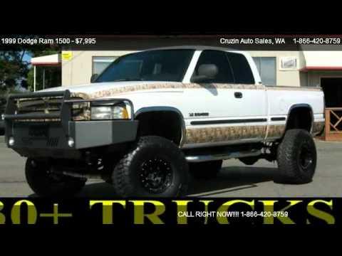 dodge ram  quad cab long bed wd  sale  tacoma wa  youtube