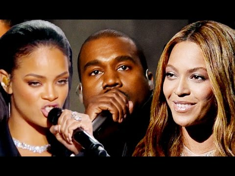 Kanye West, Rihanna, Beyonce - Grammys Best Moments 2015