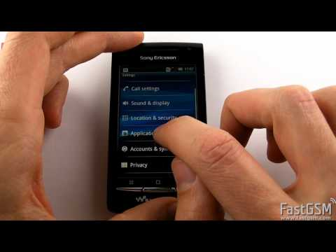How To Unlock Sony Ericsson W8 Walkman (E16) by USB