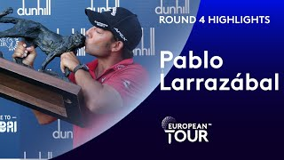 Pablo Larrazábal wins in dramatic fashion | 2020 Alfred Dunhill Championship