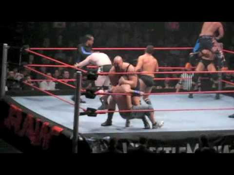 WWE Raw Brisbane Tour 2009 - Brisbane Cup Highlights