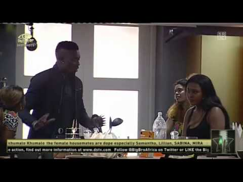 Big Brother Africa - The First Argument video