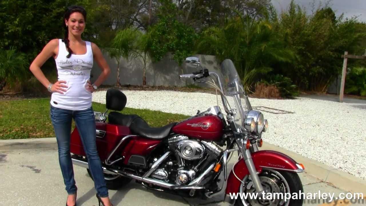 Harley Road King For Sale >> 2007 Harley-Davidson FLHR Road King for sale - YouTube